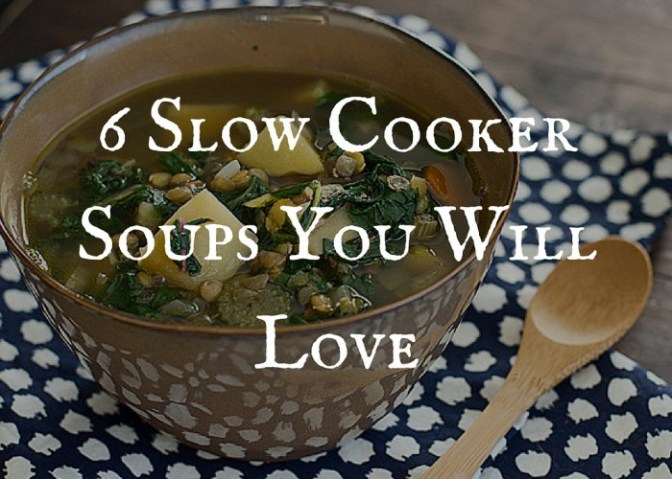 6 Slow Cooker Soups You Will Love