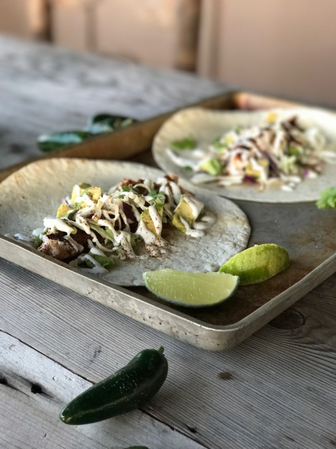 Red snapper tacos 1